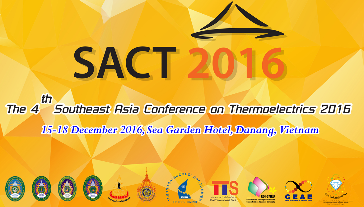 The 4th Southeast Asia Conference on Thermoelectrics