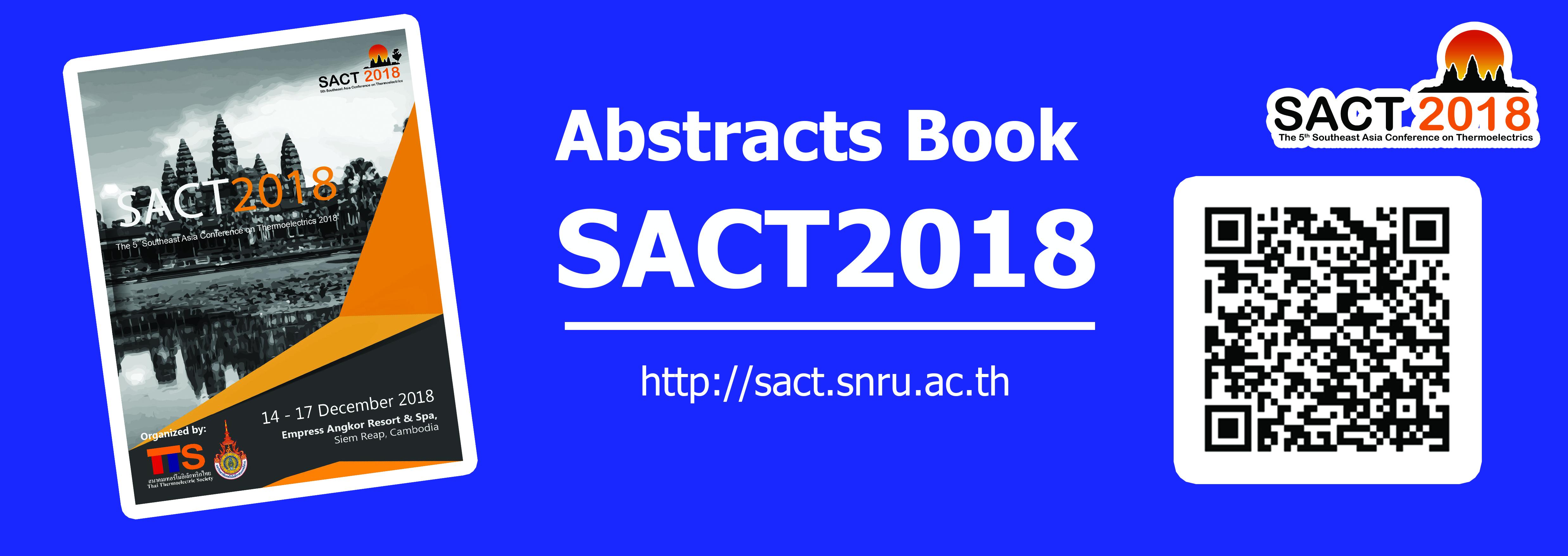 Abstract Book SACT2018